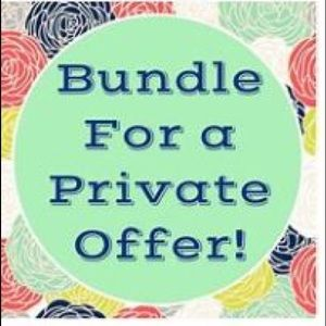 Other - All bundles of 2+ items 15% + private offer 💰